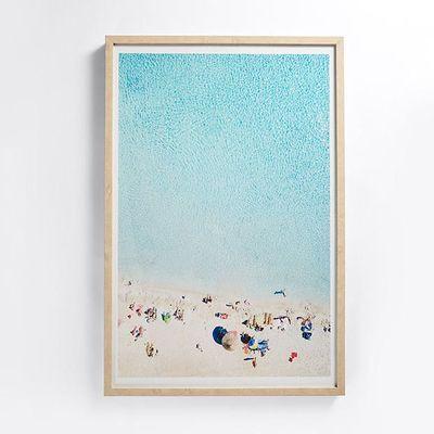 NEW Beaches Framed Print 60cm x 90cm