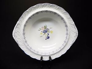Nikko-China-Blue-Peony-11-034-Round-Handle-Vegetable-Bowl