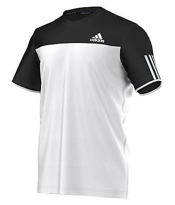 Painstaking Adidas Men Club Short Sleeve Climacool Tee Sports Gym Athletic Track Top Ai0730 Men's Clothing