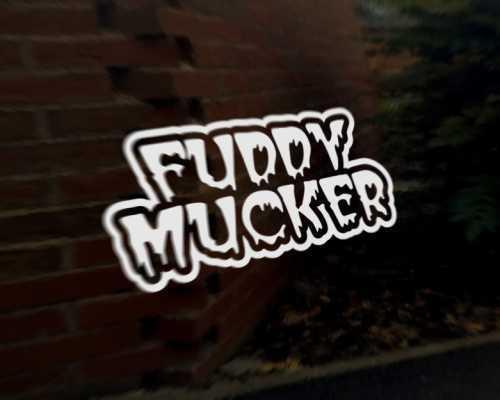 MUCKER 4x4 Car Decal Sticker Land Range Rover Freelander Defender Discovery