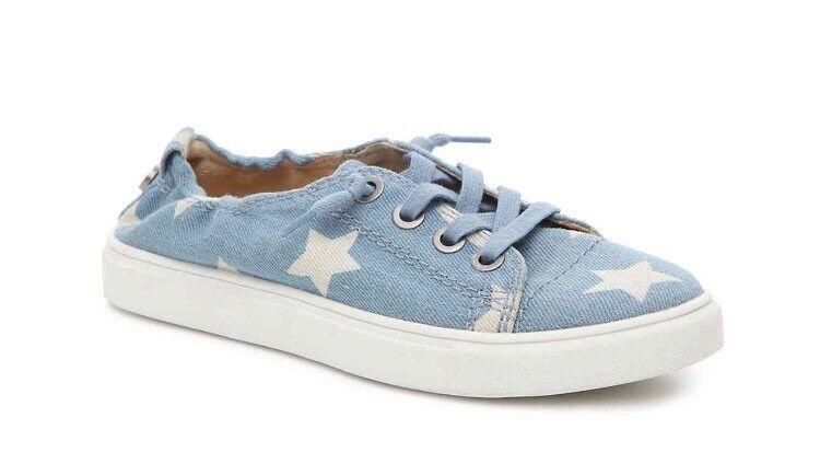 Women's Steve Steve Steve Madden Jane Sneakers Size 8 blueE e97122