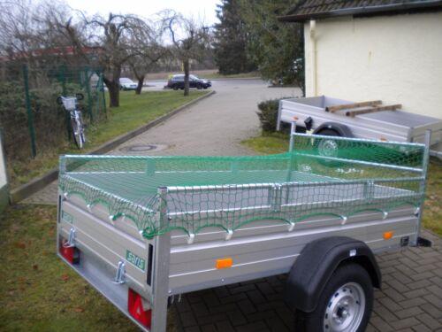 Anhängernetz Abdecknetz Container 2 x 2 m knotenlos 200x200cm