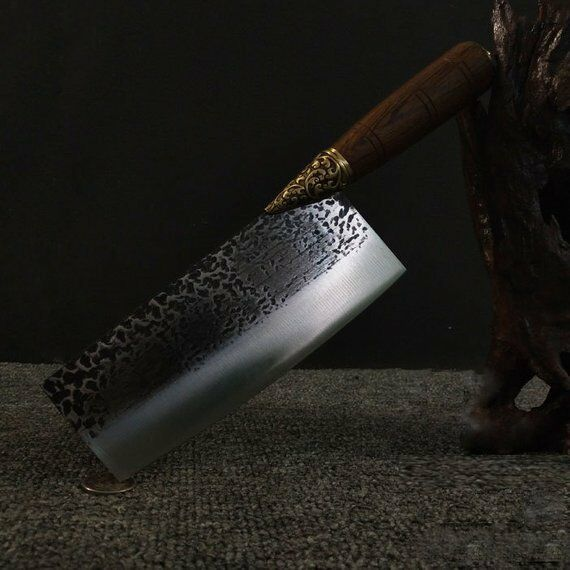 Pure hand-forged slicing Kitchen knife Cleaver Chopper Professional kitchen