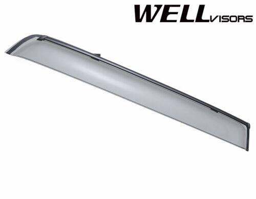 WellVisors For 11-UP Mitsubishi Outlander Sport BLACK TRIM Side Window Visors