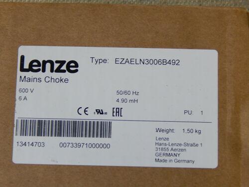 Lenze NETZDROSSEL EZAELN3006B492 New