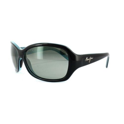 Occhiali da sole Maui Jim Pearl City GS214-03A nero con Blue Neutro Grigio Gradient