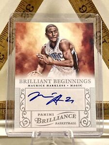 MAURICE-HARKLESS-Auto-RC-Panini-BRILLIANCE-BRILLIANT-BEGINNINGS-2012-13-47