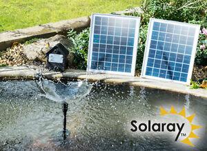 Kit pompe solaire panneau batteries nergie stock e t te for Pompe bassin 12v
