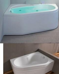 Vasca Angolo 150x100 Wap Telaio Pannello Idromassaggio Whirlpool Cromoterapia Ebay