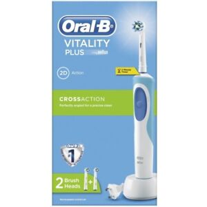 Braun-Oral-B-Vitality-Plus-2D-w-Timer-Rechargeable-TWOBrushes-220-VOLTS-OVERSEAS