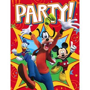 Details About 16 Hallmark Party Disney Mickey Mouse Clubhouse Invitations Envelopes