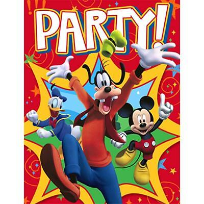 16 Hallmark Party Disney Mickey Mouse Clubhouse Invitations Envelopes 726528293679