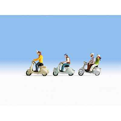 Details about  /Noch 15910 1//87 H0 Characters Figurines Drivers Scooter Bundle Of 3 Pièces Ho