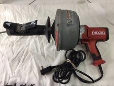 Ridgid Drain Cleaner Model K 45 230 Volt Pipe Cleaner