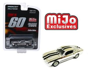 Greenlight-1-64-034-Gone-in-60-Second-034-1967-Ford-Mustang-034-Eleanor-034-Chrome-Car-51227