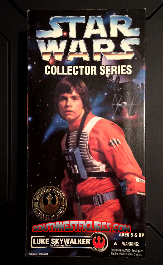 12 Inch Luke Skywalker (X-Wing Pilot) (Star Wars  A New Hope) (Kenner 1996)(MIB)