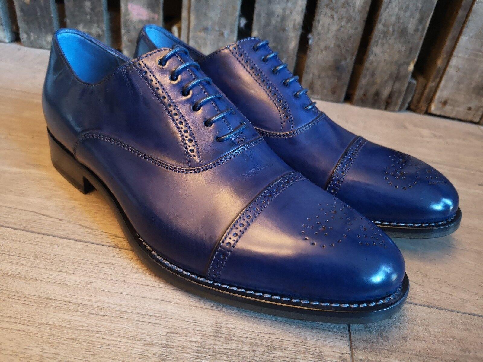 BRAND NEW PAUL SMITH blueE BredS (UK SIZE 6)