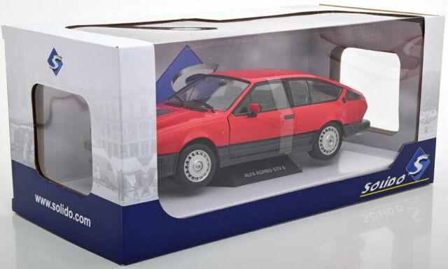 Alfa Roméo GTV6 rouge 1984 1/18 Solido S1802301
