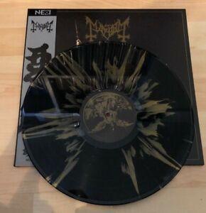 Mayhem-Daemon-Vinyl-Lp-Black-Vinyl-with-Golden-Splatter-Limited-to-100-Copies