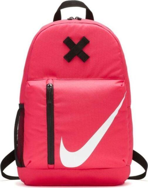 Nike Elemental Sports Backpack Rucksack Girls Ladies Bag BA5405-622 - Rush  Pink 9499c3a71fc15