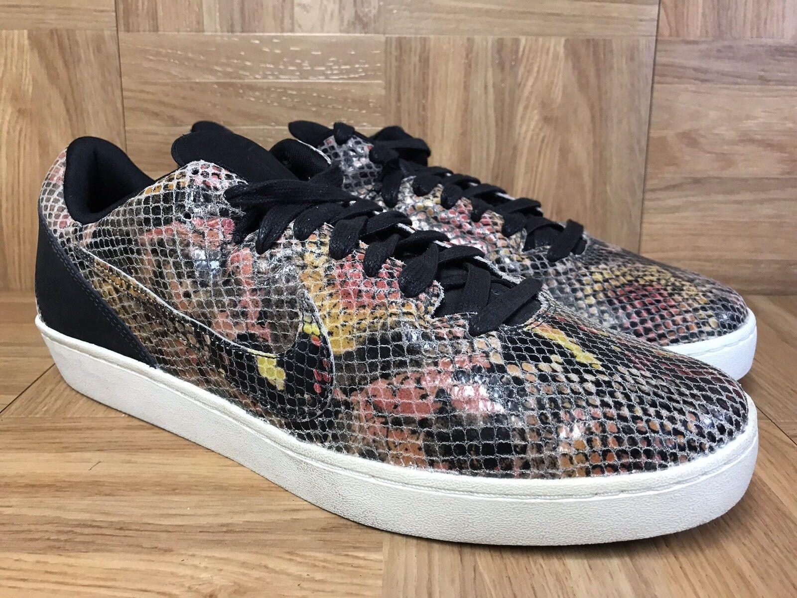 RARE  Nike Kobe 8 VIII NSW Lifestyle Snakeskin Snake Mamba Sz 8 582552-700 MenS