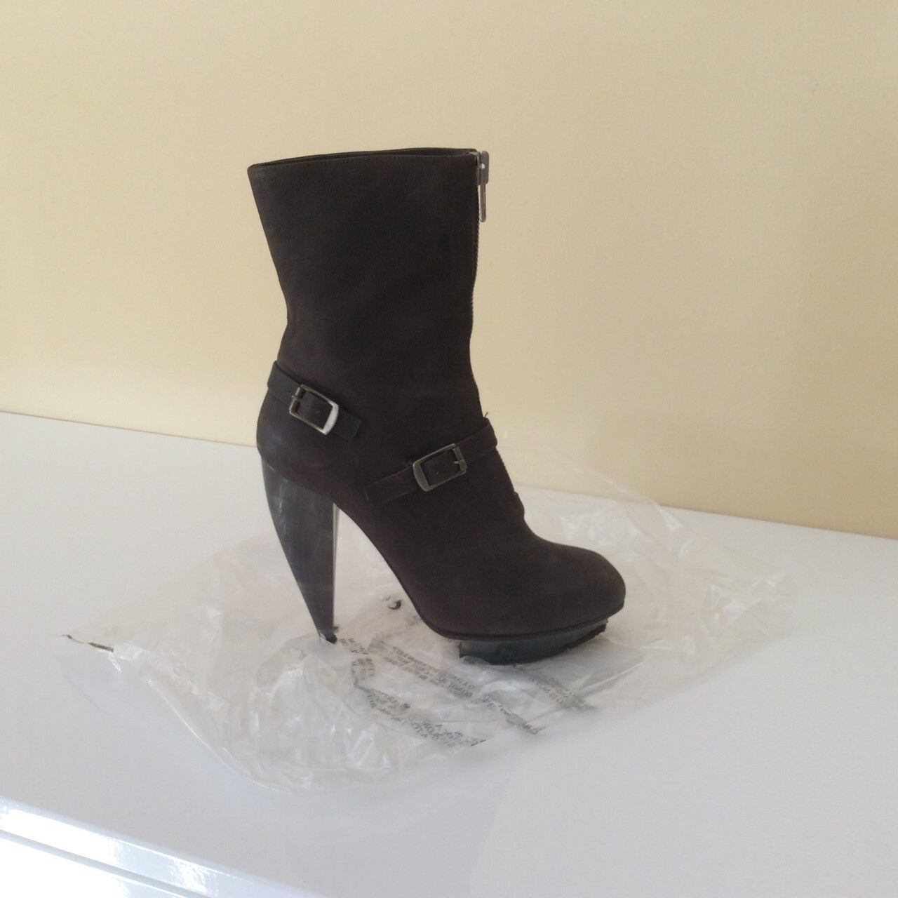 GENUINE Chloe Brown Nubuck Ankle Boot WORN ONCE Size Size Size 39 dede66