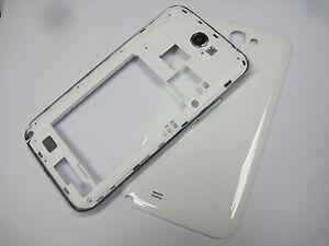 White ~ Housing cover  Fur Samsung Galaxy Note 2 N7100