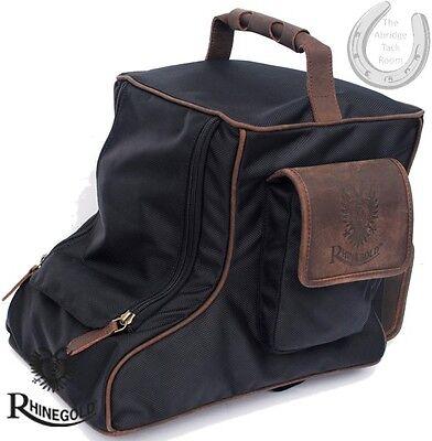 * Nuovo * Rhinegold Elite Bagagli-versione Breve Boot Bag – Nero – In Viaggio, Stoccaggio-mostra Il Titolo Originale