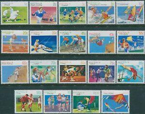 Australia-1989-SG1169-1194-Sports-set-MNH