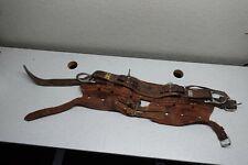 Vintage Bashlin 88b Size D25 Code 1092 Lineman Climbing Belt Needs Some Work