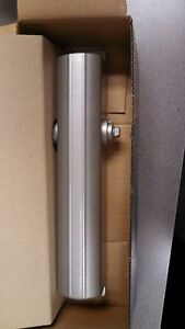 LOCKSMITH TACO DOOR CLOSER 70A-BC NOS SPRAYED ALUMINUM GRADE 1 ADJUSTABLE