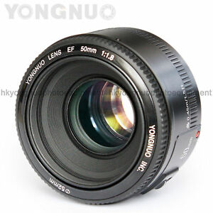 Yongnuo-EF-YN50mm-F-1-8-Standard-Prime-Lens-MF-AF-for-Canon-Rebel-DSLR-Camera