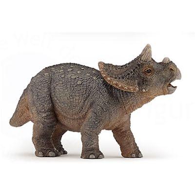 Bébé Jeune triceratops Dinosaure PAPO-Ref 55036-neuf avec étiquettes!