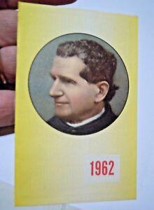 Calendario Boschi.Dettagli Su Calendario Tascabile Del 1962 Commemorazione Di Don Bosco
