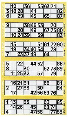 Bingo Game Tickets