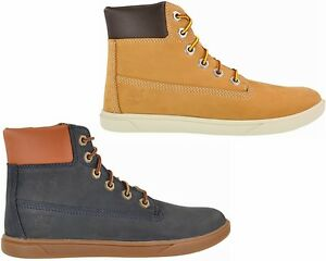 BOYS-GIRLS-TIMBERLAND-GROVETON-6-INCH-LACE-LEATHER-LADIES-CUPSOLE-BOOTS-3-6-5