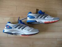 Adidas Supernova Sequence Running Shoes, Blue White, Silver, UK Size 19, NEW