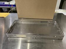 Aesculap Jc222r Sterilization Basket Container Wide Handle Rounded Cornersnice