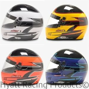 Pyrotect Pro Airflow Auto Racing Helmet Snell Sa2015
