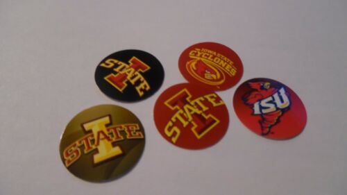 NEW PRE CUT ONE INCH Iowa Cyclones FREE SHIPPING