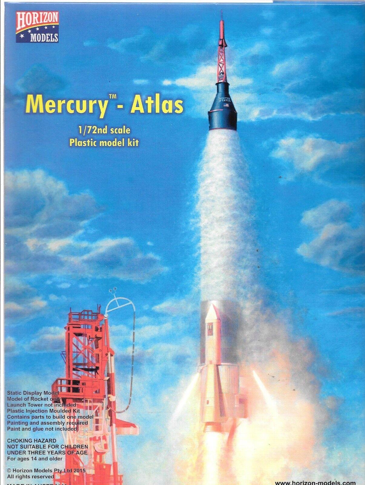 contador genuino Horizon Models Mercurio - Atlas, Cohete & & & Cápsula en 1 72 2002 St  precios mas bajos