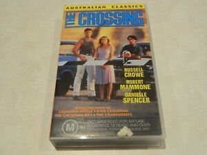 Australian-Classic-The-Crossing-VHS-Ft-Russell-Crowe-amp-Danielle-Spencer