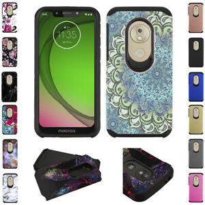 for-Motorola-Moto-G7-Play-Tmobile-REVVLRY-Dual-Layer-Shockproof-Case-Cover-tool