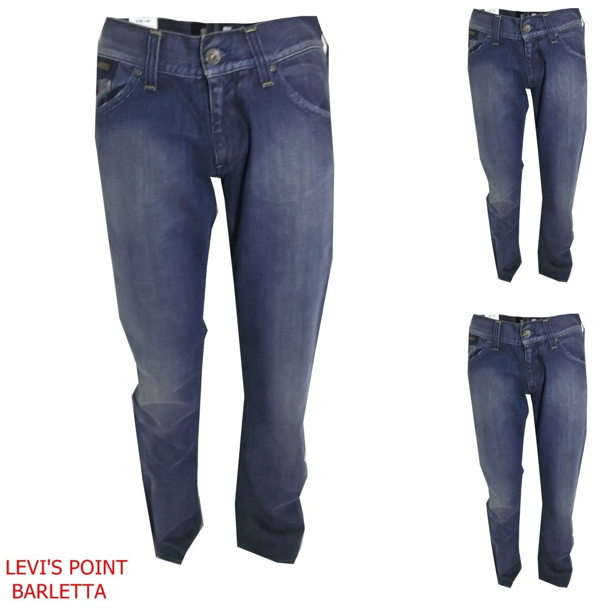 Jeans a zampa d'elefante denim svasato energie uomo morris Slim taglia W28 W32