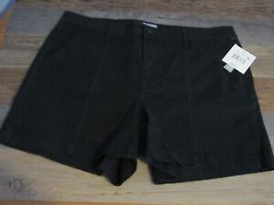 kostenloser Versand neue angebote neueste Details zu NWT FALLS CREEK Womens Black Twill Shorts with Side Vent Size 18  (W 36