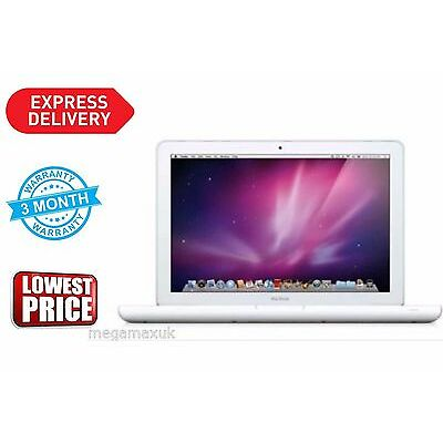 MacBook A1342 2,4GHz Intel Core 2 Duo 13,3zoll Webcam 250GB HDD 4GB RAM 2010