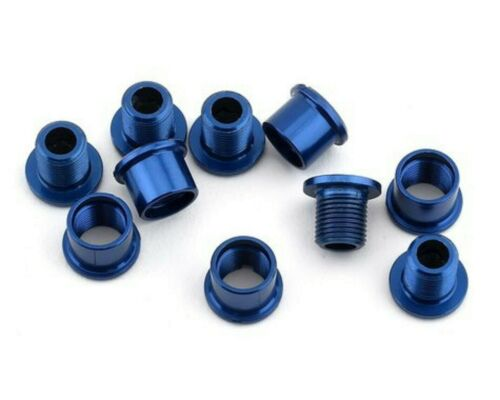ANSWER ALLOY CHAINRING BOLT FOR SINGLE CHAINRING BMX BLUE