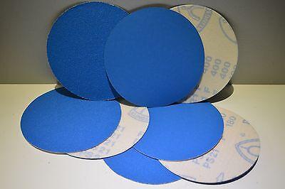 10 Klettscheiben 150 mm ZIRKON P 40, 60, 80, 100, 120, 150,180, 240, 320, 400