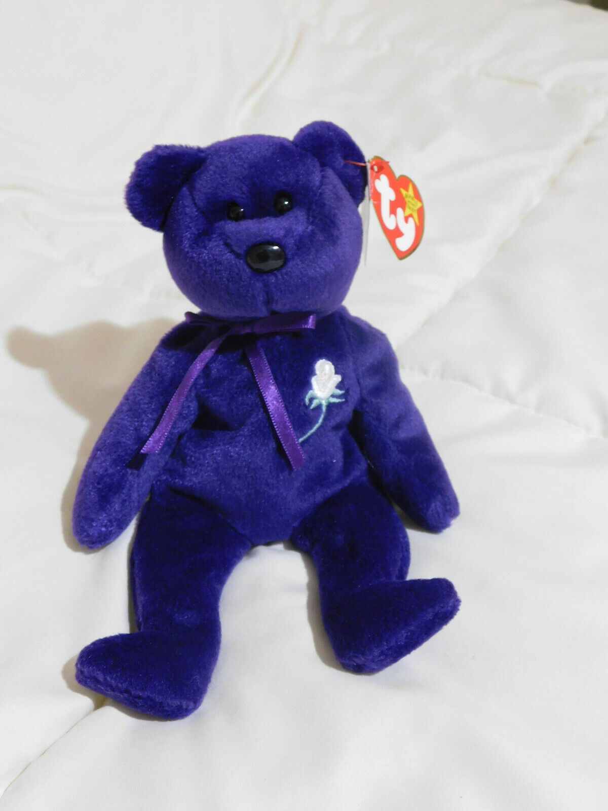 TY Beanie Babies Princess Diana Beanie Baby Collection