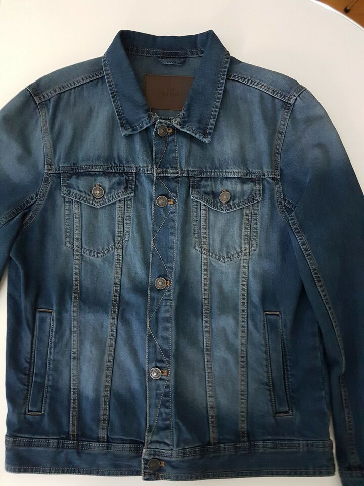 Cowboyjakke, str. M, DENIM